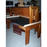 Used Rosewood Desk U-4