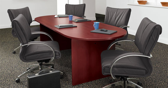 Global Laminate Racetrack Table, Office Tables, North York, Toronto