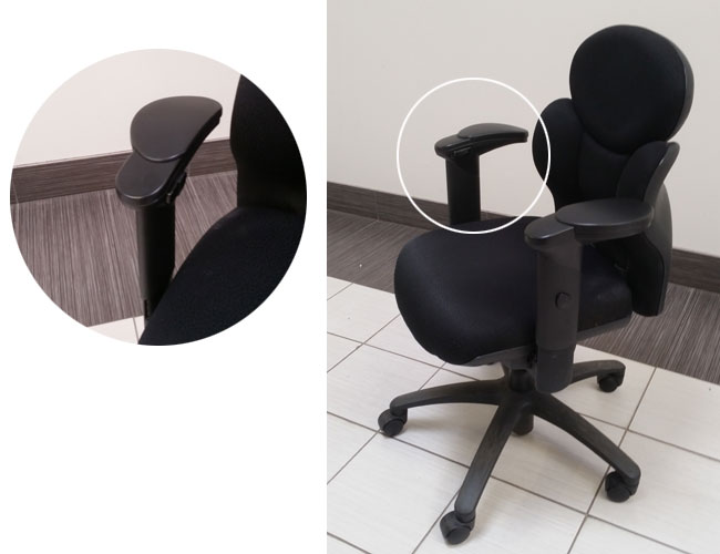 Used Global NuCas Chair, Office Used Chair, North York, Toronto