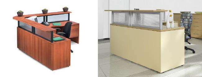 office reception table. Global Adaptabilities, Office Reception Desks, Downtown Toronto Table