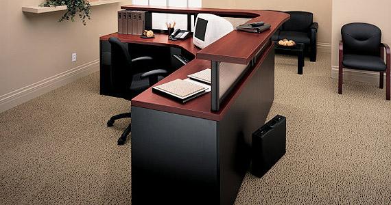 Global Correlation Reception Desk Office Furniture