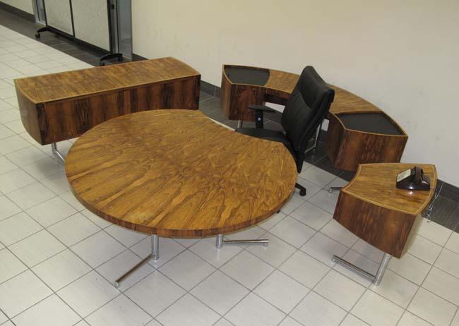 Leif Jacobsen Rosewood Office Set  Office Rental  Downtown TorontoSet 3   Desk for Rent Toronto GTA   Office Furniture. Office Furniture On Sale Toronto. Home Design Ideas