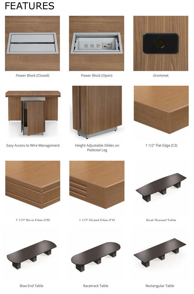 Desk Handle Options
