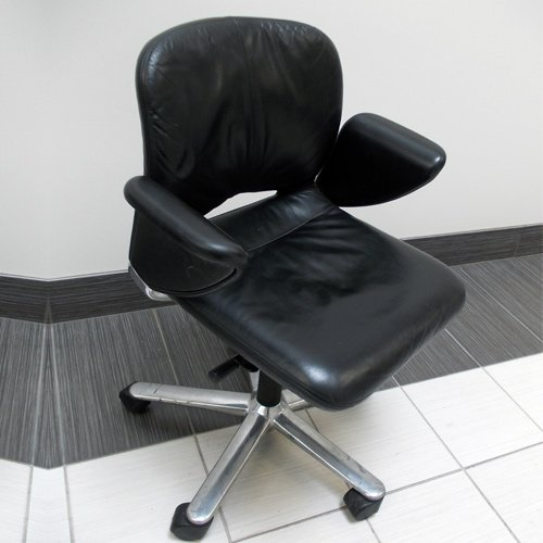 Herman Miller Leather Chair Geoff Hollington Movie
