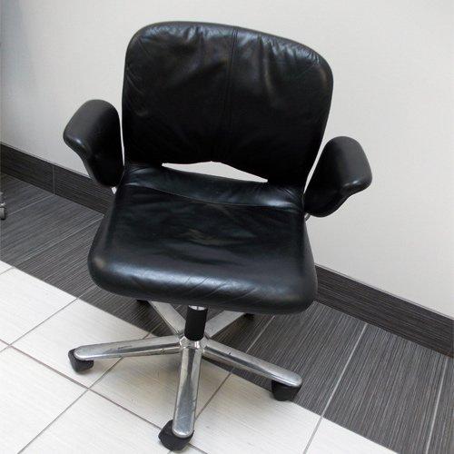 Herman Miller Leather Chair Geoff Hollington Movie Rentals Toronto